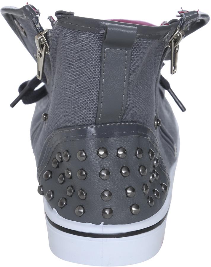 Wet Seal Stud High Top Sneaker