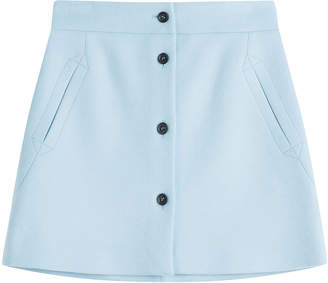 Paul & Joe Wool Mini Skirt