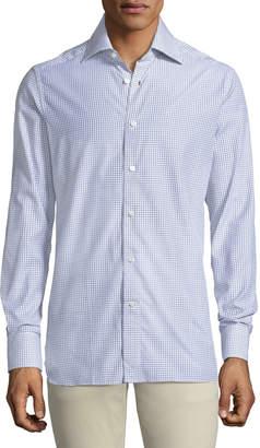 Ermenegildo Zegna Slim Box-Check Shirt