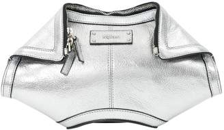 Alexander McQueen Manta leather clutch bag