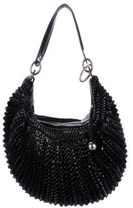 Diane von Furstenberg Leather Stephanie Hobo