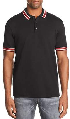 HUGO Dancroft Stripe-Tipped Polo Shirt