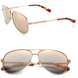 Marc by Marc Jacobs Aviator Sunglasses $120 thestylecure.com