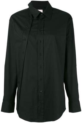 A.F.Vandevorst placket detail shirt