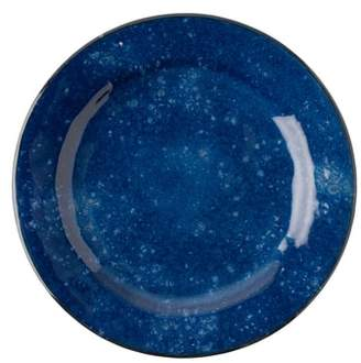 Juliska Puro Cobalt Ceramic Dinner Plate