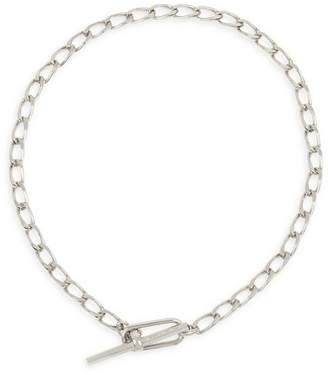 "AllSaints Link Toggle Necklace, 15"""