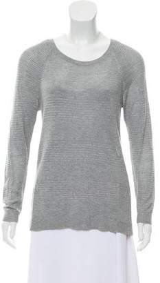 Rag & Bone Scoop Neck Long Sleeve Sweater