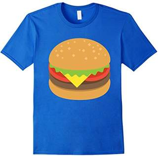 Hamburger Burger Cheeseburger Emoji Emoticon T Shirt Tee New