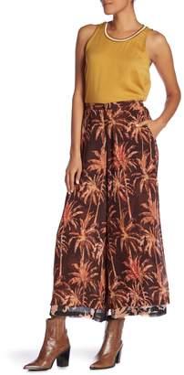 Scotch & Soda Tropical Print Wide Leg Pants