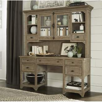 Greyleigh Ellenton Secretary Desk with Hutch