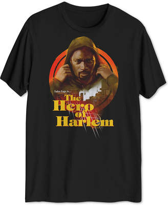 Hybrid Men Hero of Harlem Graphic T-Shirt