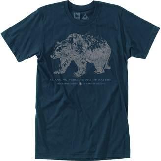 Hippy-Tree Hippy Tree Woodprint Short-Sleeve T-Shirt - Men's