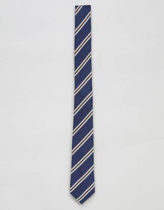 Asos DESIGN slim tie in stripe