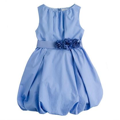 J.Crew Girls' poplin bubble dress