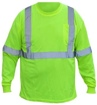 Forester Class 2 Long Sleeve Shirt. Safety Green. With Reflective Tape. Size Extra Large. Part Number 9051LONG-XL