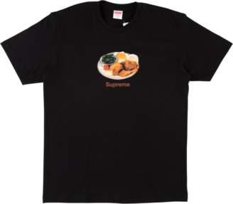 Supreme Chicken Dinner Tee - 'SS 18' - Black