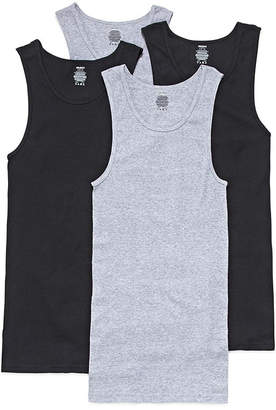 Gildan 4-pk. Sleeveless Platinum Cotton A Shirts