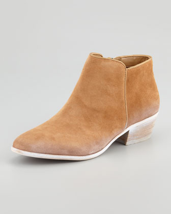 Sam Edelman Petty Suede Ankle Boot, Cashew