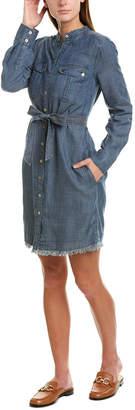 Trina Turk Westside Linen-Blend Shirtdress