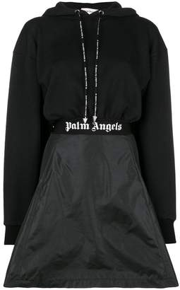 Palm Angels logo waistband dress
