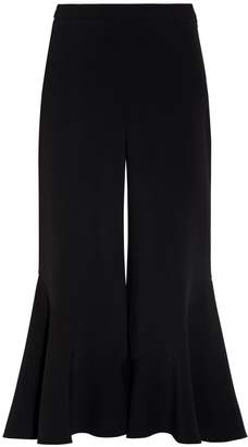 Peter Pilotto Cropped Frill Trousers
