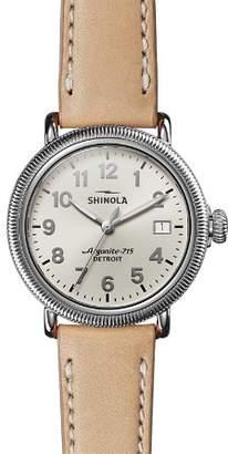 Shinola The Runwell Coin-Edge Watch, 38mm