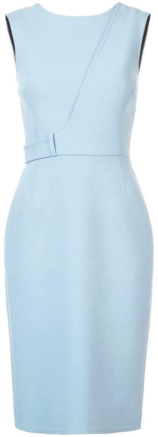 Collection fitted sleeveless dress