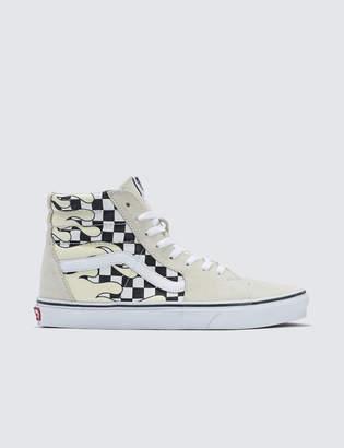Vans Checker Flame Sk8-hi