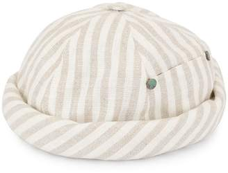 Beton Cire striped beanie