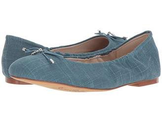 4cfb9f6c2df8 Sam Edelman Blue Leather Sole Women s flats - ShopStyle