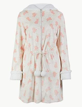 Marks and Spencer Bunny Print Dressing Gown