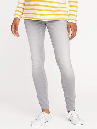 Old Navy Maternity Side-Panel Rockstar Jeans