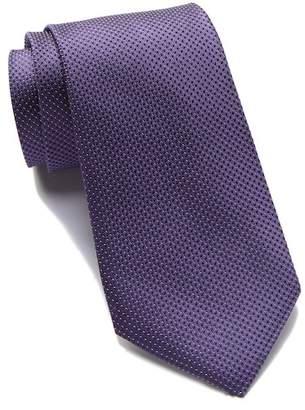 Calvin Klein Silk Micron Pindot Tie