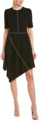 Stella McCartney Wool-Blend A-Line Dress