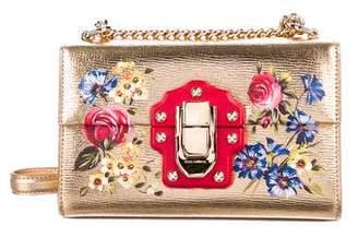 Dolce & Gabbana Metallic Lucia Shoulder Bag