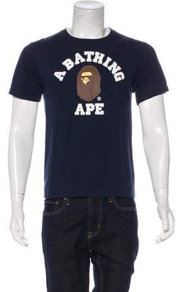 A Bathing Ape Logo Graphic T-Shirt