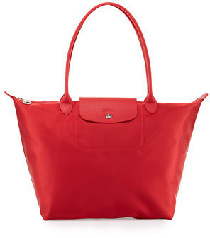 Longchamp Le Pliage Néo Large Nylon Tote Bag $190 thestylecure.com