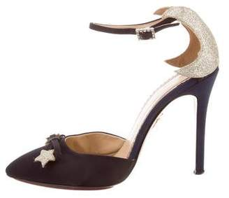 Charlotte Olympia Astrid Ankle Strap Pumps