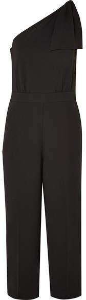 J.Crew - Jackpot One-shoulder Crepe Jumpsuit - Black