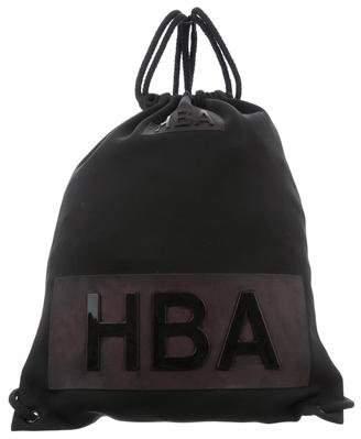 Hood by Air Neoprene Logo Backpack