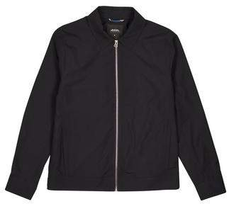 Burton Mens Navy Nylon Collared Harrington Jacket