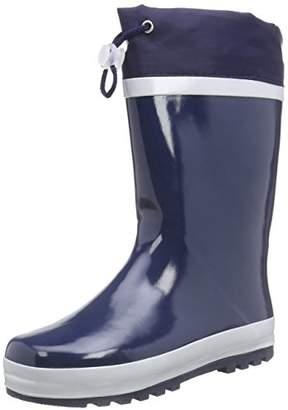 Playshoes Kids' Gummistiefel aus Naturkautschuk GefÃ1⁄4ttert Rain Boots,6 Child UK