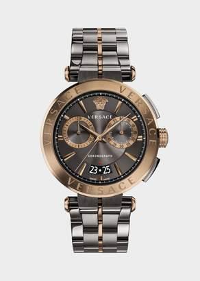 Versace Bronze-Gray Aion Chrono Watch