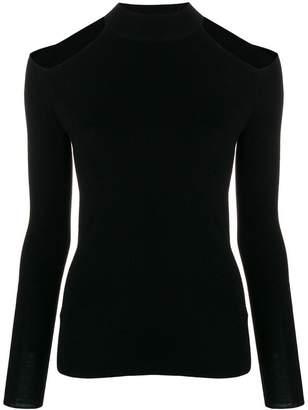 MICHAEL Michael Kors cut-out shoulder jumper