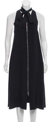 Edun Silk Midi Dress