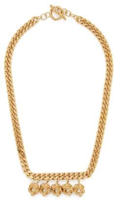 Tasha Orit Elhanati Gold Plated Charm Necklace - Womens - Gold