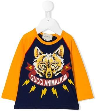 Gucci Kids Animalium printed T-shirt