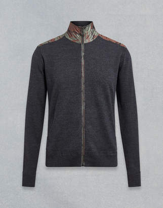 Belstaff Coombewood Merino Zip-Through Cardigan