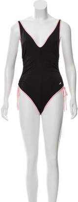 Morgan Lane Lili One-Piece Swimsuit w/ Tags Black Lane Lili One-Piece Swimsuit w/ Tags