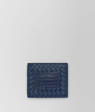 Bottega Veneta PACIFIC CROCODILE BI-FOLD WALLET